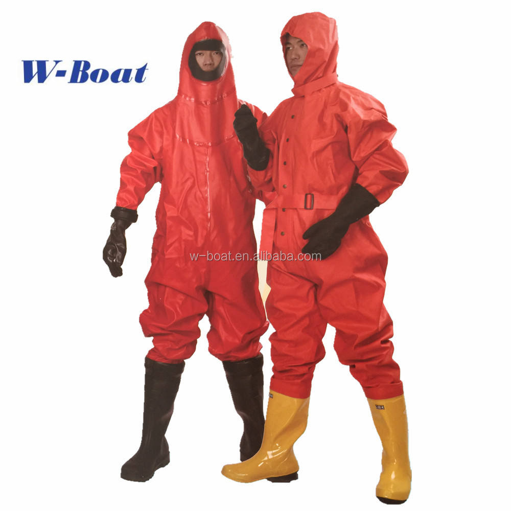 Factory price Chemical Protective Suit for Firefighters RHF-I