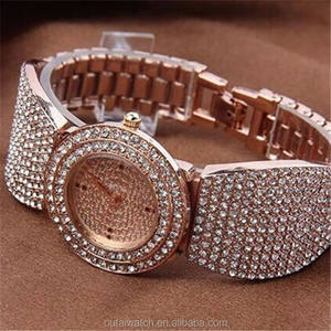 Luxury Girl Hand Watch Slim Stone Quartz Watch