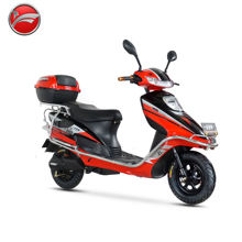 800W brushless 60V/72V own design fashionable outlook electric motorcycle scooter moped
