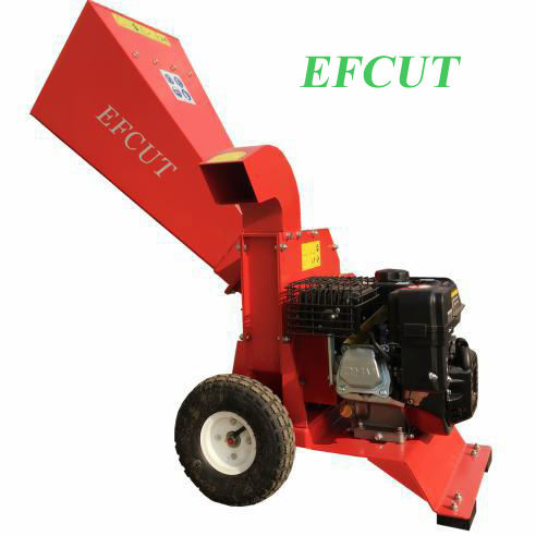 EFCUT B018 | Professional Drum 3.2 Inch Gasoline Driven Wood Chipper Shredder With CE Approval