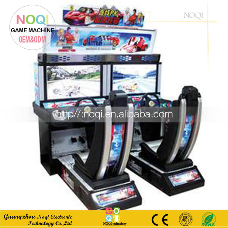 Classical 32''LCD Outrun Racing for double players arcade car racing game adult simulation games