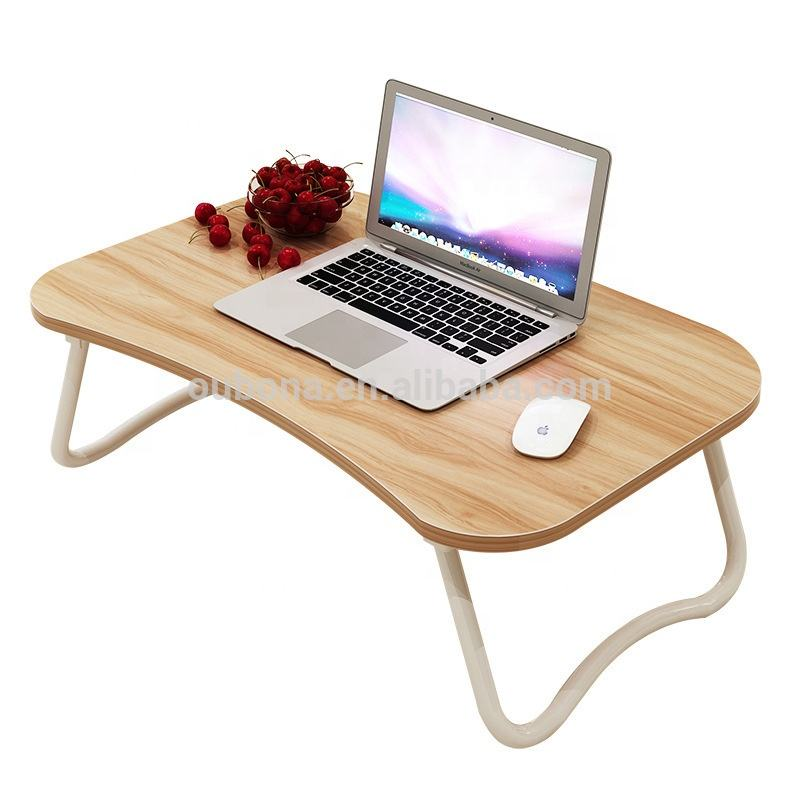 folding bed table Portable Notebook Stand Table for Bed and Couch Breakfast Ser computer desk W legs Laptop Desk