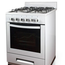 60*60 hot selling 4 burner gas cooker with oven with CE,ETL SAA