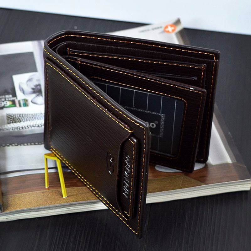 Wholesale shenzhen classic wallets business leather men credit card money clip wallet /purse