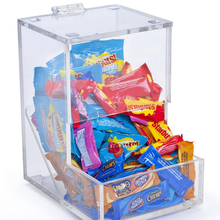 Eco-friendly Acrylic Chocolate Candy Box/ Plexiglass Candy Display rack/ Bulk Candy Dispenser
