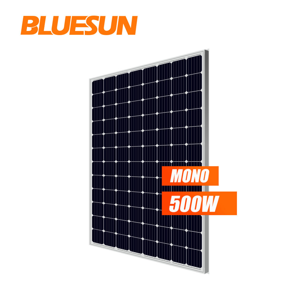 Bluesun 500w diy solar panel kits 48V mono solar panel cheap price