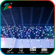 LE LED Window Curtain Icicle Lights String Fairy Light Warm White String Light for Christmas/Halloween/Wedding/Party Backdrops