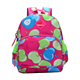Cartoon Cute Schoolbag Student Bag With Apple Design Children Backpack