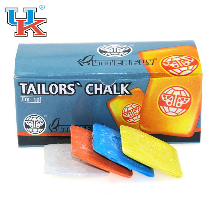 4pcs Butterfly Tailors Chalk Triangle Fabric Marker Dressmaking Sewing Wipe off