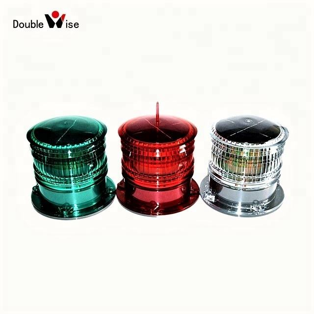 Marine Navigation Light Doublewise Boat Equipment Cheap 3NM Solar LED Marine Navigation Lantern