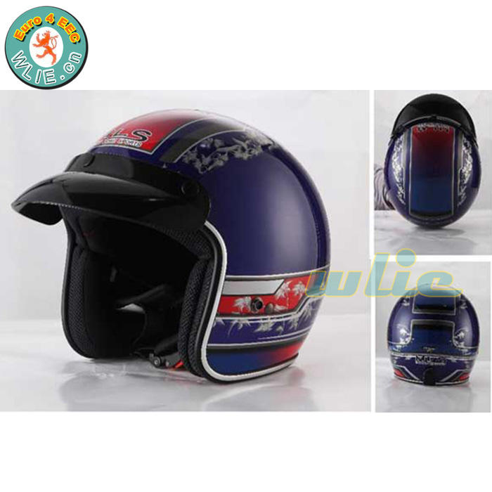 2018 zhejiang Baru youth anak dirt bike helm ece yohe helm OF606 (Open Face)