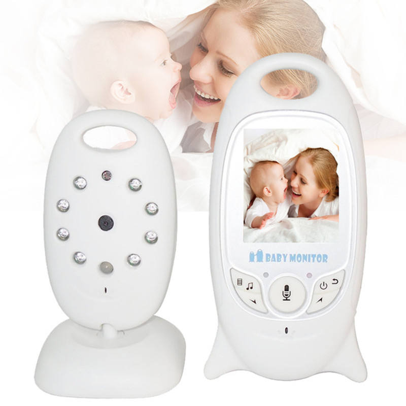 2.0 Inch LCD 2 Way Talk Digital Video Baby Monitor Audio Baby Camera With Temperature Monitoring Lullabies and Night Vision