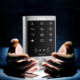 High Capacity Standalone Touch Keypad Wifi Access Control for Remote Control