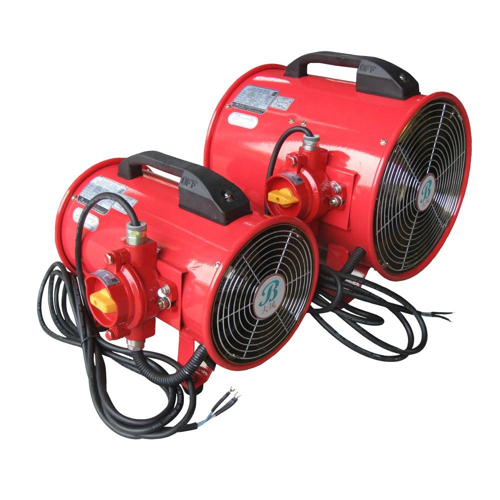 Explosion proof ventilation fans
