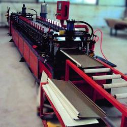 Supermarket shelf panel / rack panel roll forming machine