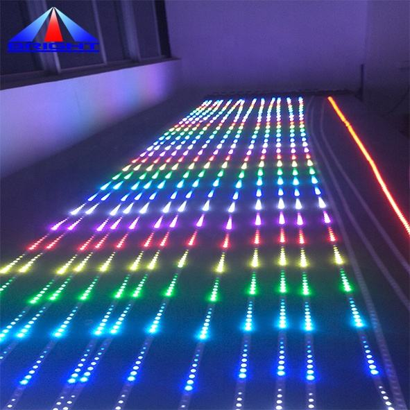 Color RGB impermeable ip66 3D <span class=keywords><strong>efectos</strong></span> Disco <span class=keywords><strong>de</strong></span> LED