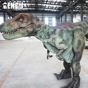 Simulated T Rex Adult Dinosaur Costume