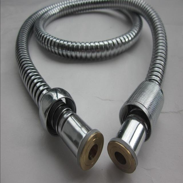 stainless steel double lock flexible shower hose