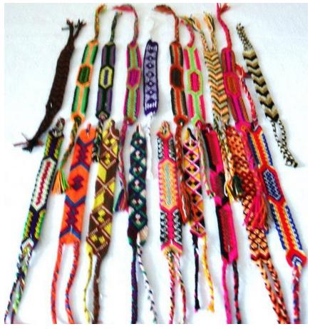 Bangle wayuu, tradicional bracelet, made by indigenous 004