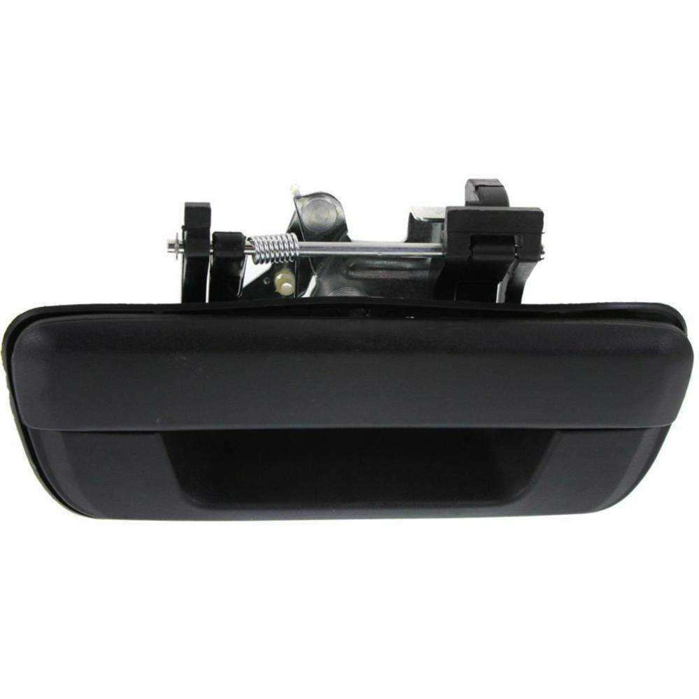 Smooth Black Tailgate Rear Back Latch Outside Door Handle for Toyota Tundra