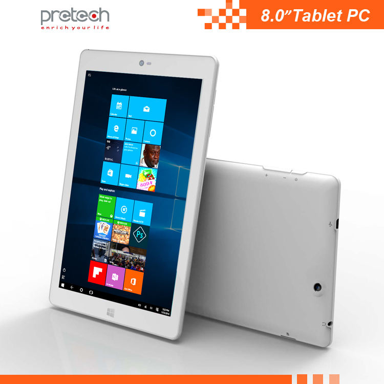 High configuration best OEM Wins 10 OS 2+32GB 4000mAh 8 inch Wifi/BT/FM tablet pc 1280*800 IPS Z8350