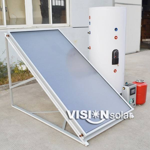 Closed Loop Split Flat Plate Solar Water Heater System