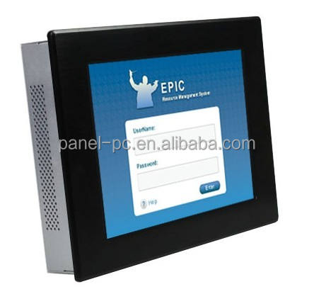 10 Zoll IP65 Industrial Panel PC, alles in einem PC, Fenster XP/7/8/10, Linux