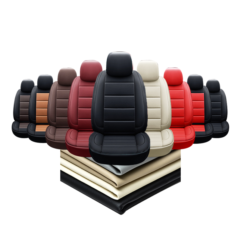 Custom Design Tailor Made Perfect Fit PU Leather Car Seat Covers
