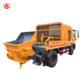 Video Technical Support Mobile Concrete Mixer Mini Mobile Concrete Mixer With High Quality For Construction Building For Sale