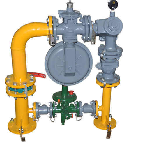 Professional Pressure Regulator Cabinet with Safety Relief Valve for Industry Furnace
