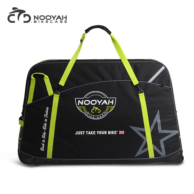 Cycling travel boxes Bike case Carry bag Transport polyester bicycle case for Road Mountain Triathlon bike