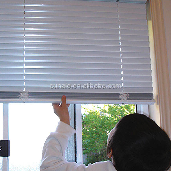 25MM PVC venetian roller blinds 1 inch cordless roller shades for office windows horizontal roller shades