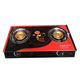 luxury type household powerful iron burner automatic ignition gas cooker