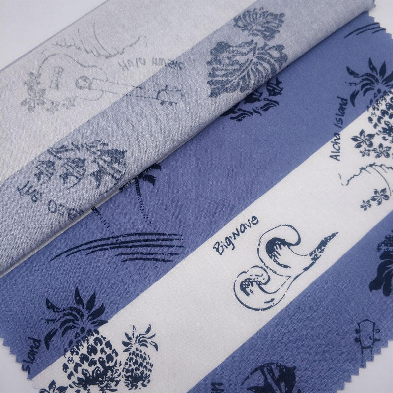 Alibaba textile 100 cotton printed fabric for dress