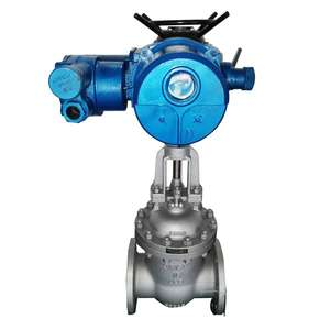 factory directly sale power down reset electric actuated gate valve