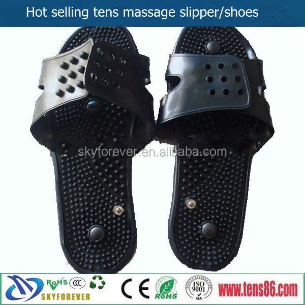 Skyforever Trending products Price Help Body Blood Circulation TENS Shoes Electric Massage Slipper