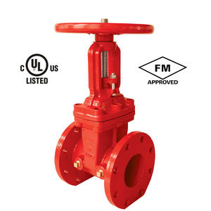 UL FM 6 Inch Gate Valve PN16 With Temper Switch, 8 Inch Butt Weld Gate Valve