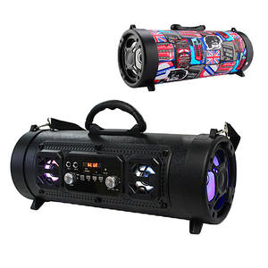 M17 wireless led lights speaker car subwoofer multi-function microphone audio