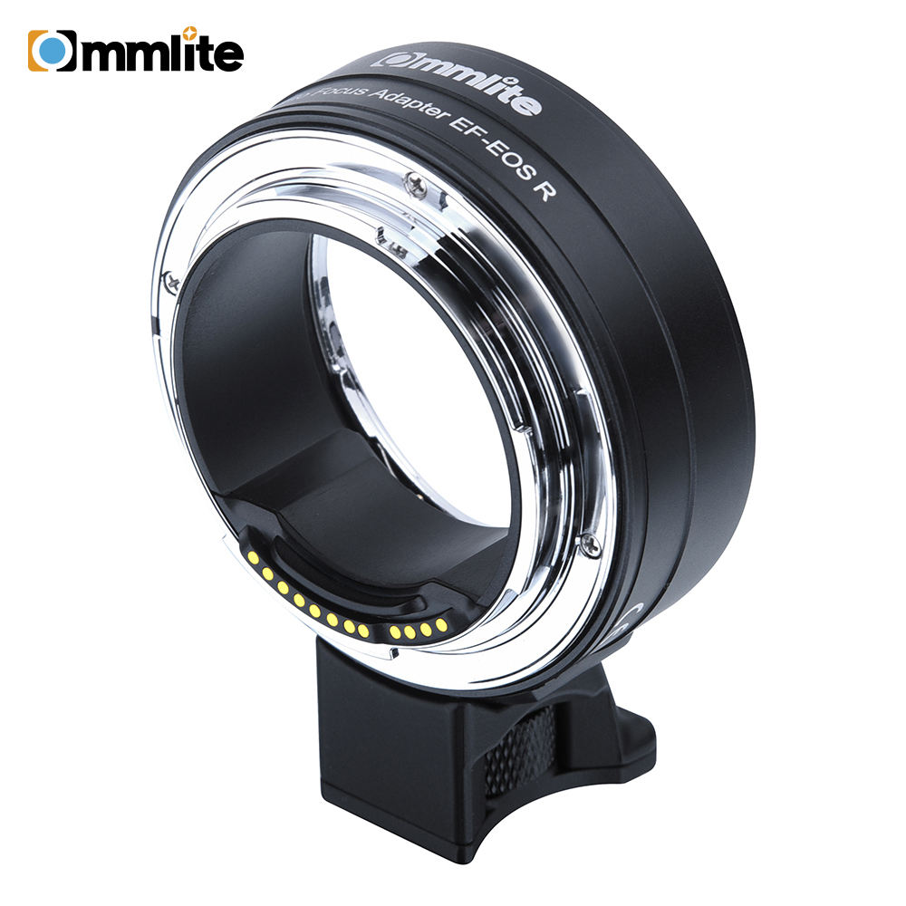 Commlite CM-EF-EOS R Electronic AF Lens Mount Adapter from Canon EF/EF-S Lens to Canon EOS R RF-Mount Full-frame Camera