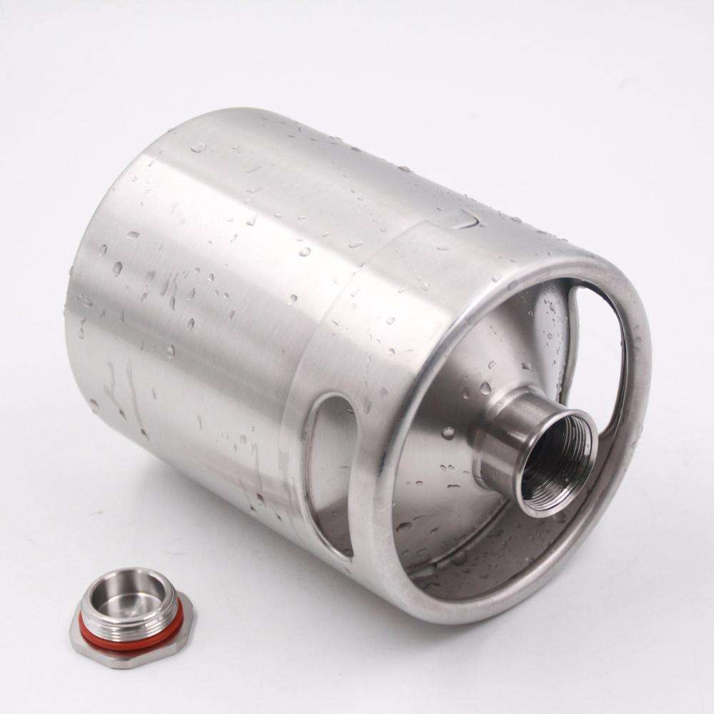 2l single wall mini keg can be used for beer, coffee, tea