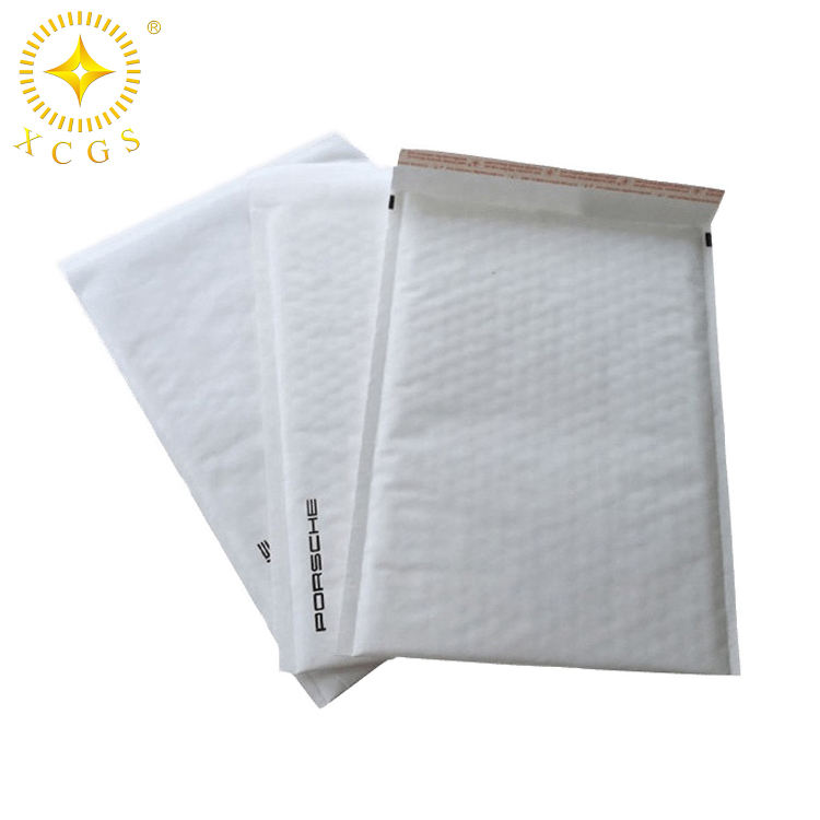 Wholesale kraft paper wrap air bubble linings envelope mailers padded mailing bags for shipping