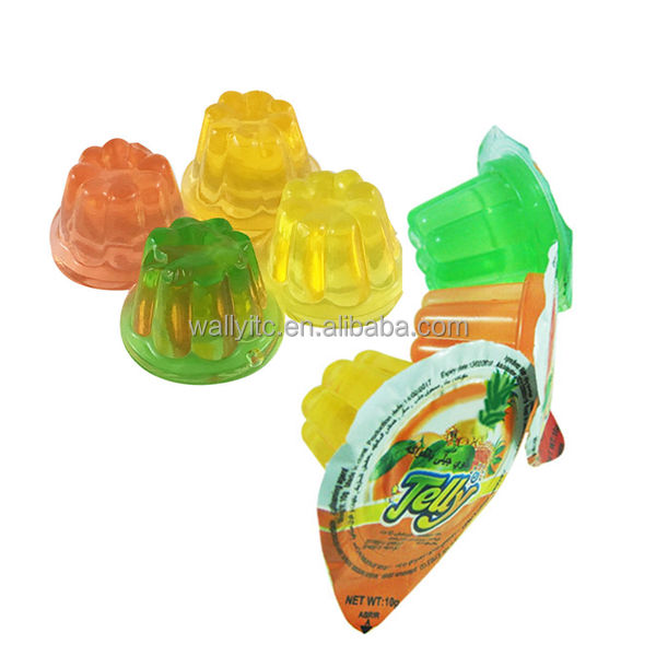 10G Fruit Flavor Mini Cup Jelly