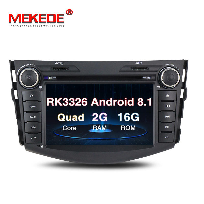 MEKEDE 7 Inch Px3 Android 8.1 Car DVD Player for RAV4 2006-2012 with WIFI GPS Navigation Car Radio Video 2G+16G Auidio Stereo