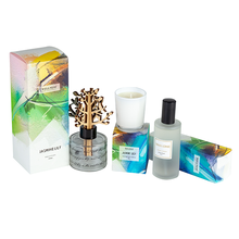 New Products Home Candles Wholesale Luxury Scented Candle and Reed Diffuser Luxury Gift Set