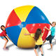 Custom 2 Meters 6 Panels Different Colors Giant Inflatable Beach Ball