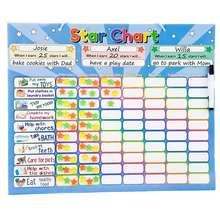 Printable weekly fridge magnet chore chart with to do list pad for 3 5 7 11 year old kids teenager adult job responsibility