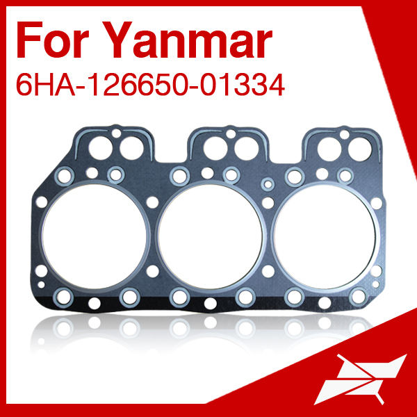 Gasket cylinder head for Yanmar marine diesel engine 6HA