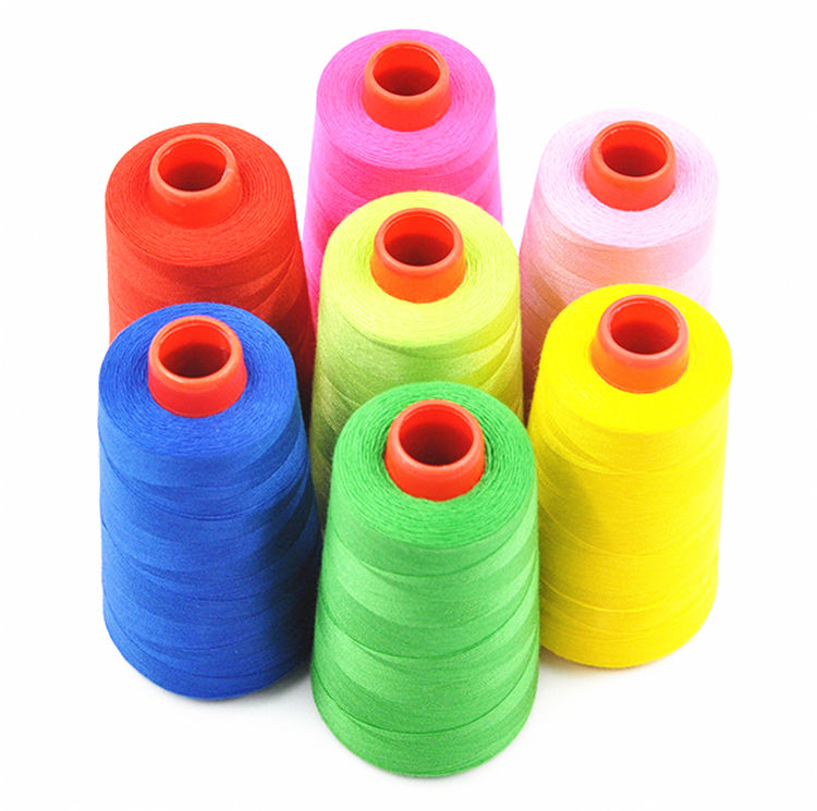 100polyester multiple colors 3000yds 40s/2 sewing threads