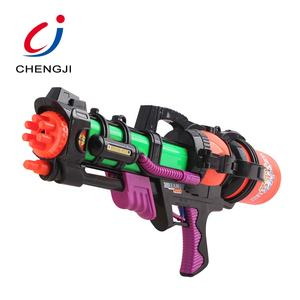 Eco-friendly child outdoor toys kids cheap powrful shooter water gun plastic