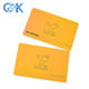 China supplier black serial number pretty plastic loyalty card wholesale